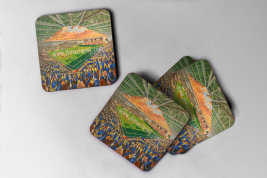 halliwell jones  Coaster set of four